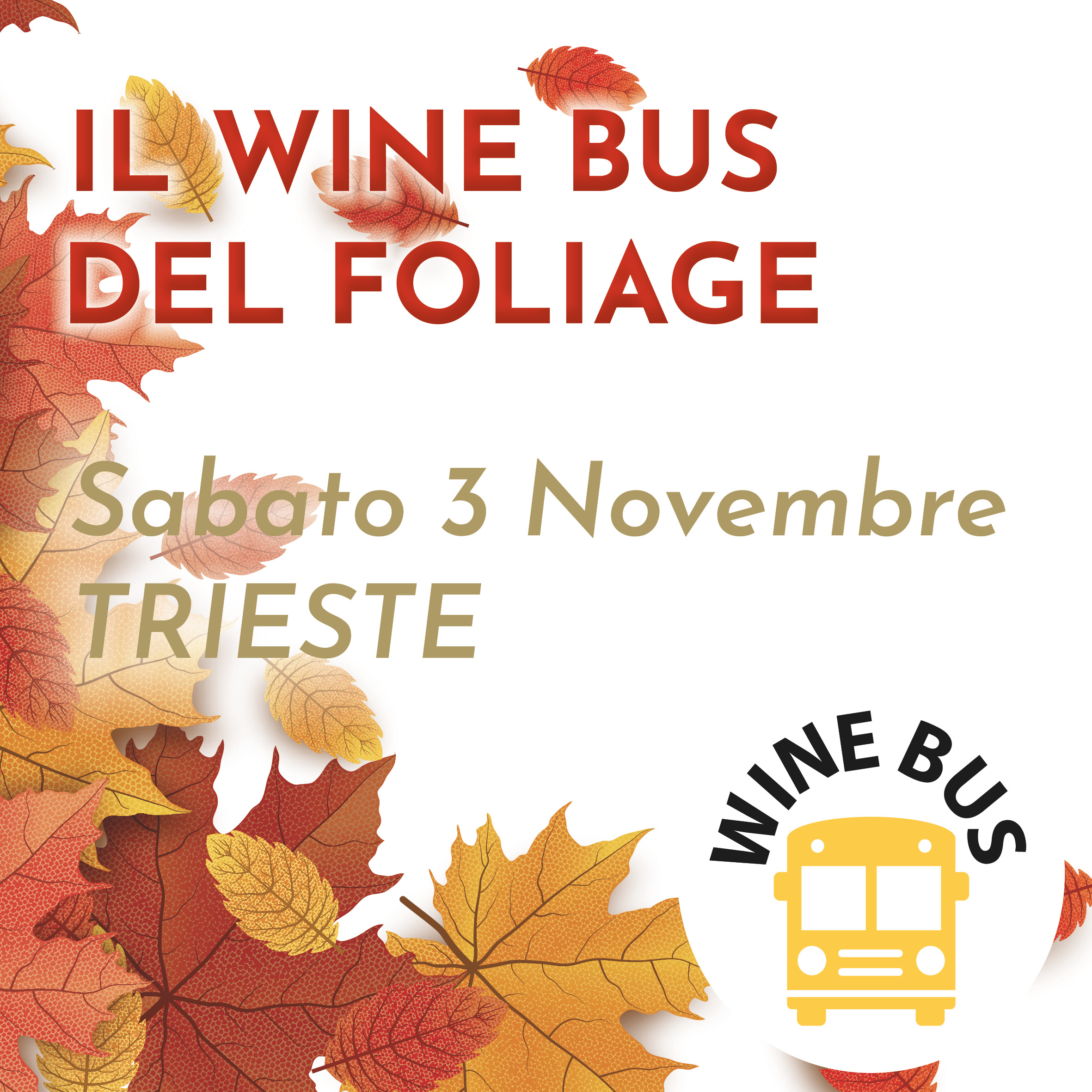 Wine Bus - Foliage
