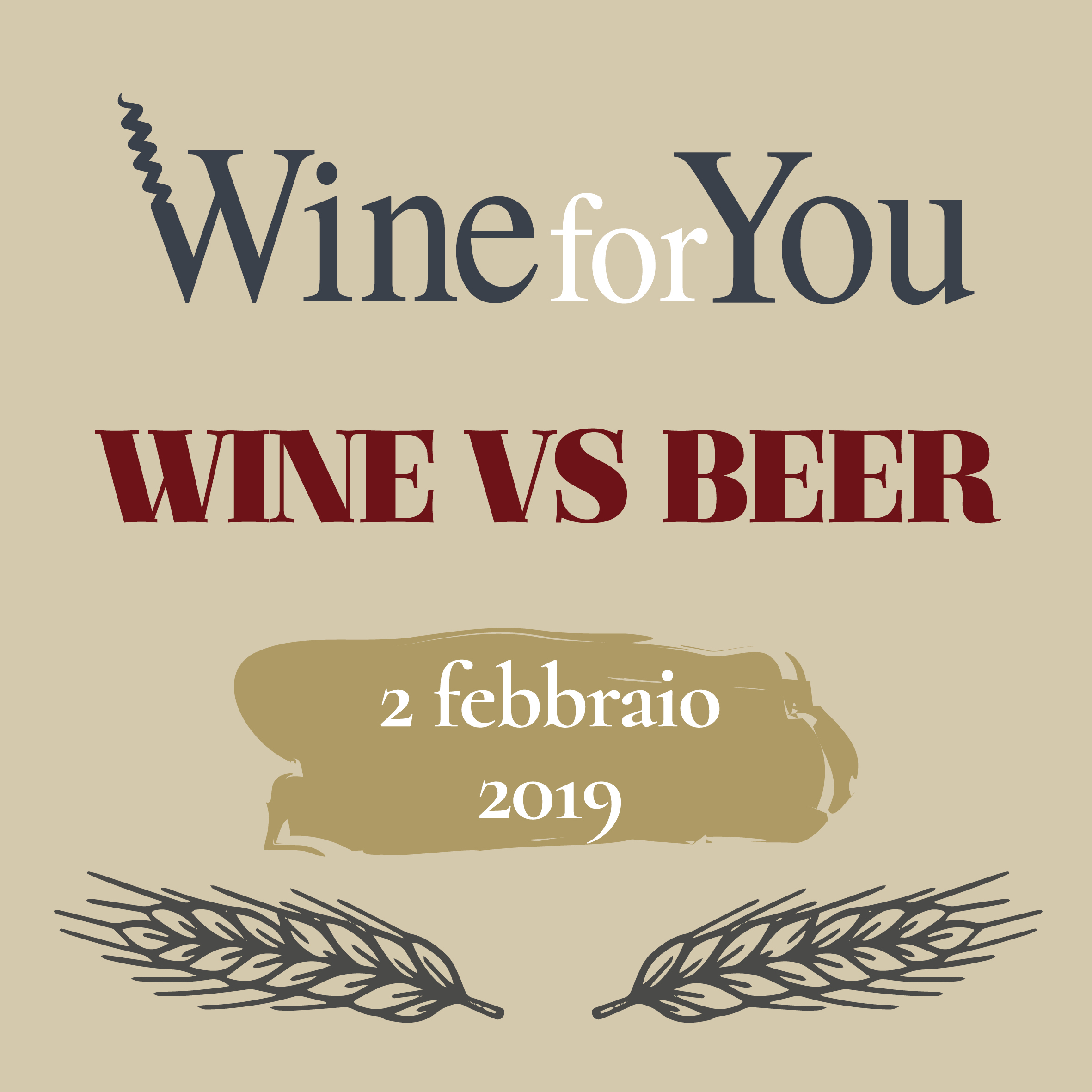 Wine For You: Wine VS Beer